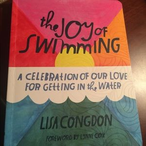 JOY OF SWIMMING book🏊♀️NEW by chronicle books